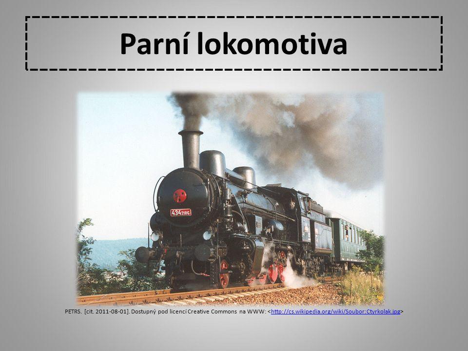 Parní lokomotiva PETRS. [cit. 2011-08-01]. Dostupný pod licencí Creative Commons na WWW: <http://cs.wikipedia.org/wiki/Soubor:Ctyrkolak.jpg>